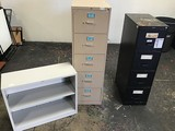 3 METAL FILE CABINETS
