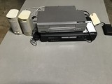 VCR Player, DVD player& Set Of Speakers