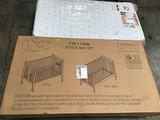 2 in 1 Baby Crib