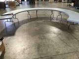 Horseshoe  conference table