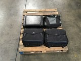 One briefcase, three computer bags