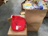 Four boxes of survival  backpack kits