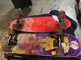 Red skateboard, skate board #18004580