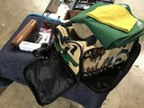 Yellow Remington range bag with miscellaneous firearm equipment #18000062 I-6