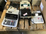 Assorted  calculators& 2Labelwriters