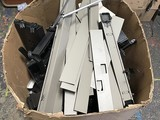 Box Of Metal Cubicle parts