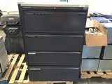 Two file cabinets