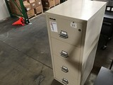 Fire king 25 metal file cabinet