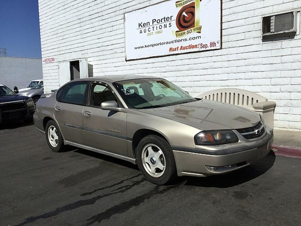 2002 Chevrolet Impala Auctions Online Proxibid