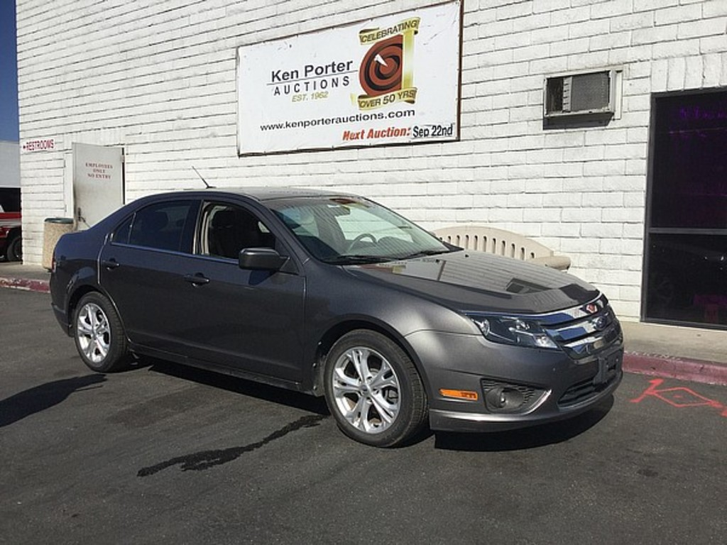 2012 Ford Fusion Auctions Online Proxibid