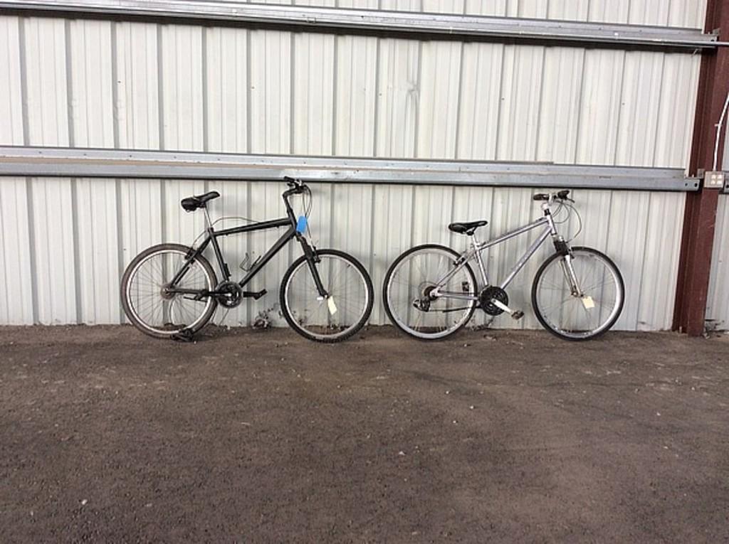 Lot: 2 bikes schwinn, no name Trailway, hybrid | Proxibid