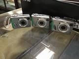Three Sony digital cameras