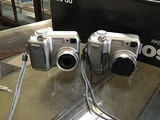 Two Nikon colorpix cameras