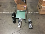 Office supply box (electronic stapler, hole punchers, paper cutter)