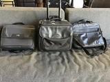 Three laptop briefcases