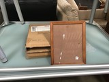 Two boxes of four piece picture frame sets