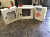 To emergency alert boxes , first aid box
