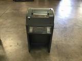 Vintage label printer