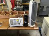 Three heaters