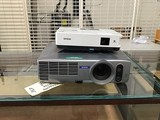 Two epson projectors