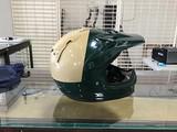 Sheriff motorcycle helmet
