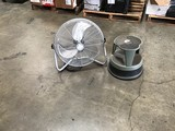 Fan and step stool