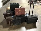 11 brief cases , laptop bags