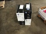 Four hp laserjet print cartridges