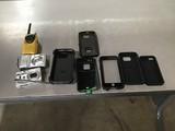 Two digital cameras, walkie talkie Phone cases