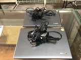 Two acer chrome mini wifi laptop with charger