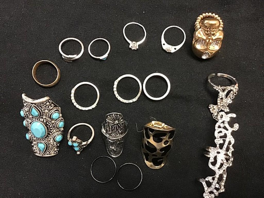 Various rings costume like