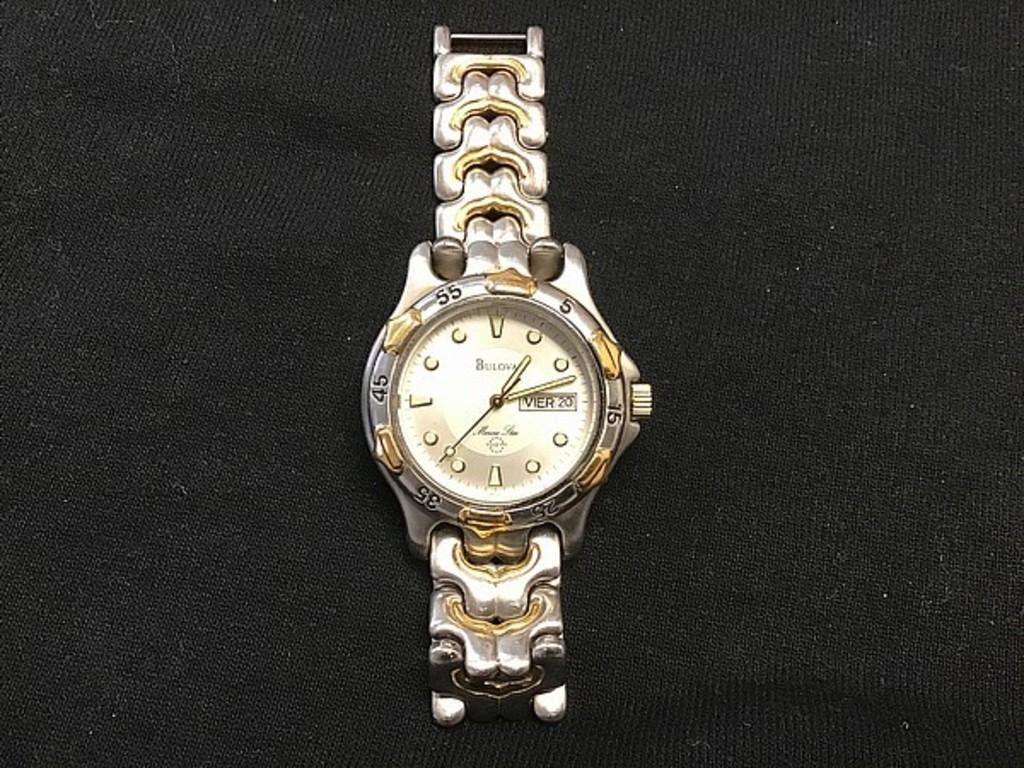 Bulova brand watch