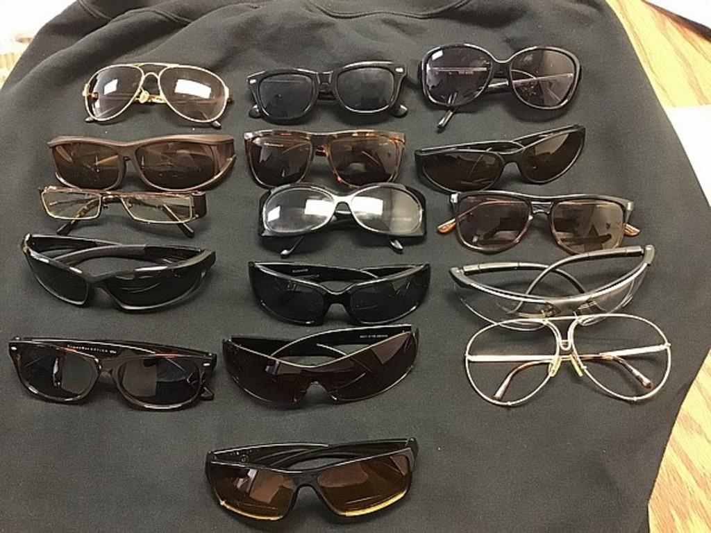 Assorted eye ware