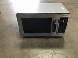 Panasonic grey microwave