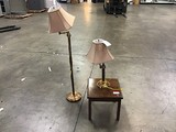End table 2 lamps