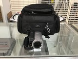Sony 40x optical zoom handycam with charger cable and carry bag