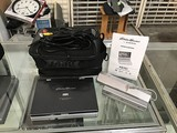 Eddie Bauer Portable DVD player with portable charger Charger and carrying case