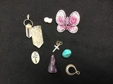 Various costume like jewerly charms