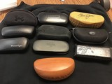 Assorted eye ware cases