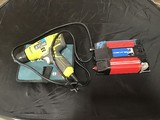 Ryobi power drill with centec power inverter