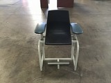 Black medical chair