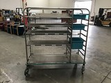 Stainless steel pedigo hospital racking