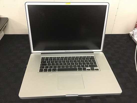 MacBook Pro HARD DRIVE POSSIBLY REMOVE Possibly locked, no charger, some damage