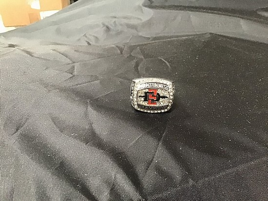SDSU Aztecs 2012 championship ring