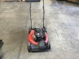 Yard machine red lawnmower