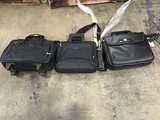 Three laptop bags
