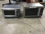Sharp commercial microwave oven with Magic Chef microwave
