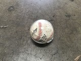 Baseball signed by padres