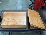 Two lectern tops