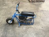 Blue mini bike (parts)